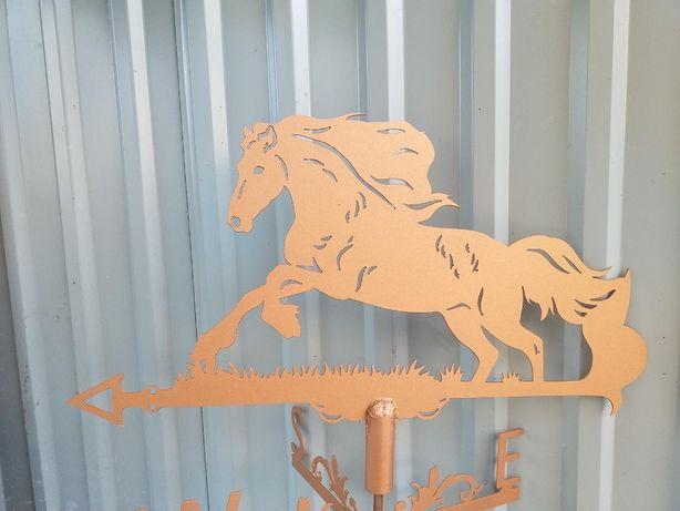 Флюгер Кінь, Конь, Мустанг (колір бронза)