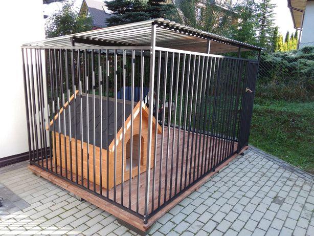 Kojce Klatki Boksy Kojec dla psa 6x4m