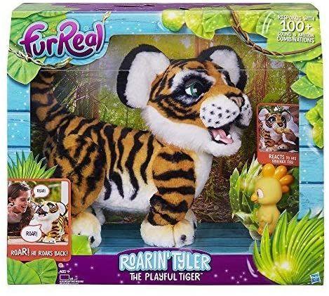 Тигренок FurReal Friends Hasbro Рычащий Амурчик. Тигр Тайлер