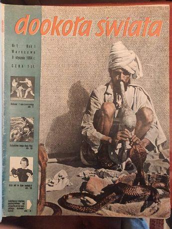 Rocznik dookoła świata z 1957 roku