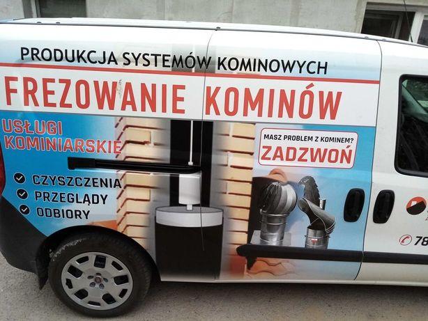 wkłady ceramiczne ocieplone frezowanie kominów .nasada gratis !!!