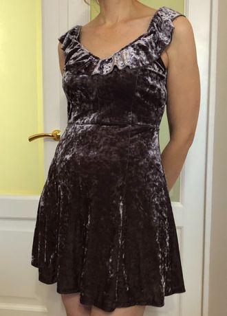 American Eagle нове велюрове міні плаття /  мини платье велюр