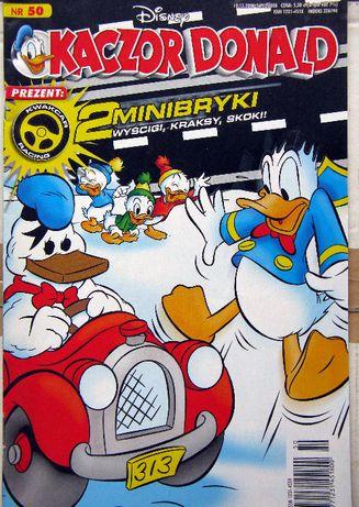 Kaczor Donald komiks- 1997 do 2009r+opis dodanych prezentów