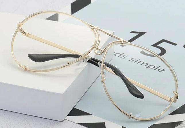 Aviatory lustrzanki zerówki okulary przeciwsłoneczne Hit 2020