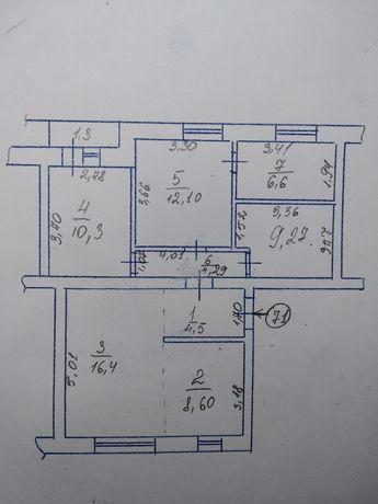 Продам 4 кімнатну квартиру в Хоролі
