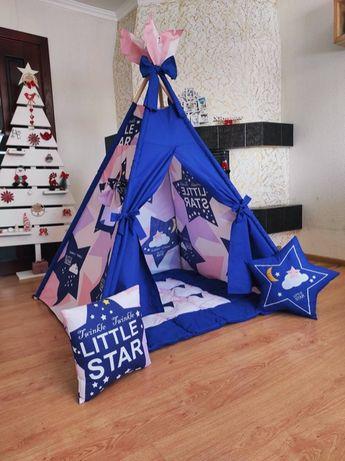Палатка вигвам, детский игровой домик. Оплата при получении! Нова