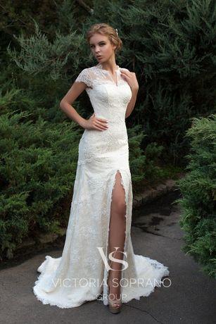 Свадебное платье Victoria Soprano Lorett с высоким разрезом