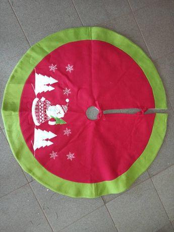 Новогодний коврик под елку