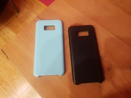 Etui do Samsung Galaxy S8+ (seledynowe/czarne)