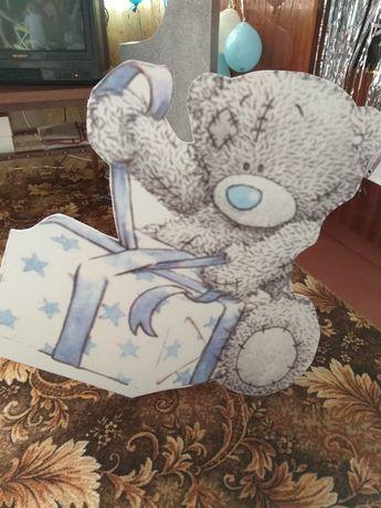 Мишка Тедди, медведь из ПВХ