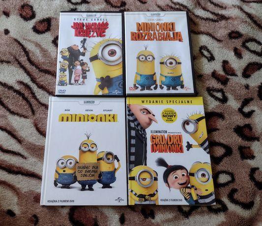 Minionki zestaw 4 płyty DVD