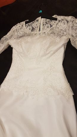Suknia ślubna sukienka biala r 36 38
