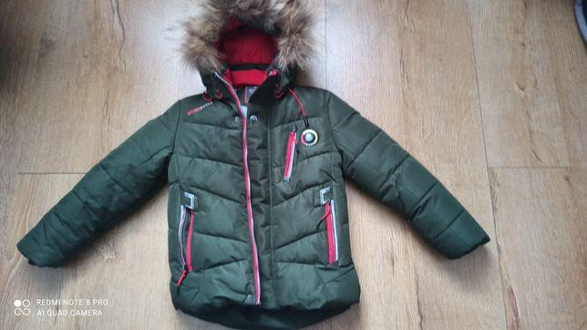 Куртка парка N3B Аляска детская зеленая