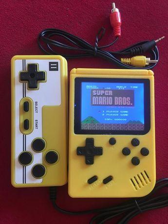 Konsola Pegasus pocket mini kolor Super Mario ładowana dodatkowy pad
