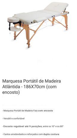 Marquesa portátil Postuarte 186x70 com enconsto