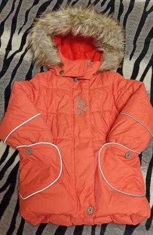 Р. 92 Зимняя куртка Lenne на девочку, зимнее пальто
