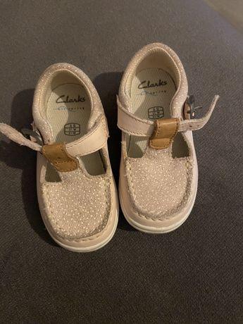 Buty dziecięce Clarks rozmiar 21