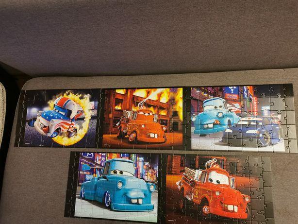 Puzzle Carsy 3x35 i 2x56