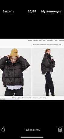 Продам курточка зимняя H&M новая размер S-M