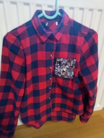 Koszula z cekinami