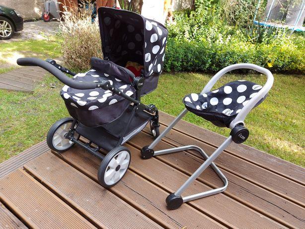 Wózek  dla lalek icoo 2w1 nosidełko krzeselko do karmienia
