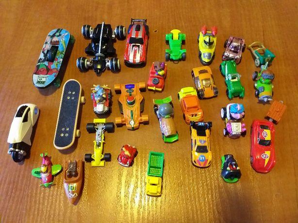 Samochody i inne pojazdy do zabawy