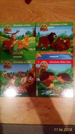 książki Deagostini przyjaciele lasu