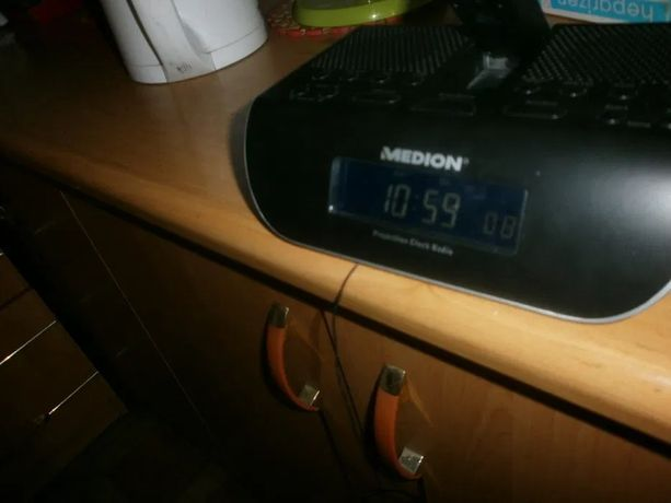Radio budzik projektor nowy