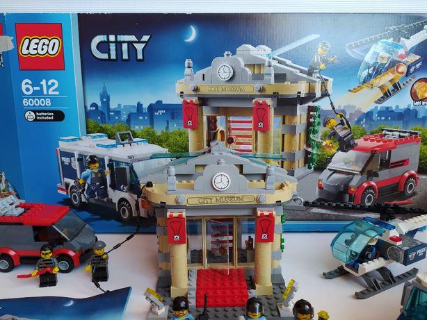 Zestaw LEGO City - Włamanie do muzeum 60008 Kolekcjonerski Unikat