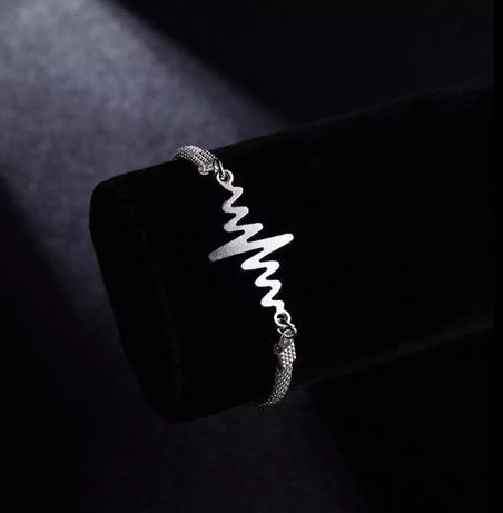 Элегантный браслет-цепочка серебряного цвета на руку, новый,на подарок