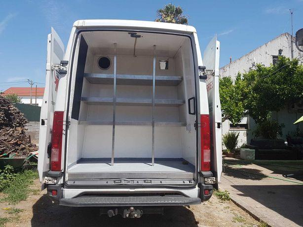 Iveco daily 35c14 com frio estrada/garagem