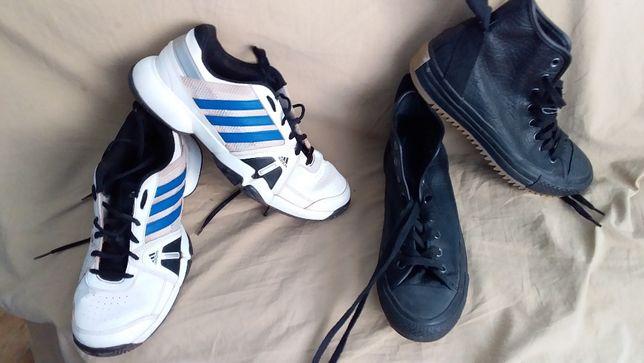 Кроссовки- adidas adiTuff -41,5; кеды кожа-Converse-41-оригиналы