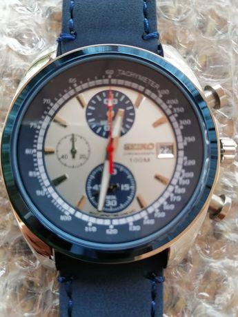 Relógio Seiko Quartz Masculinos de Luxo de Alta Qualidade Relógio