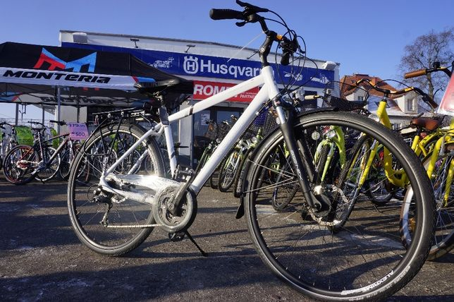 123zł rower trekking Wagant 5 Ham Tarczowe Deore Raty 0% Romet Kamień