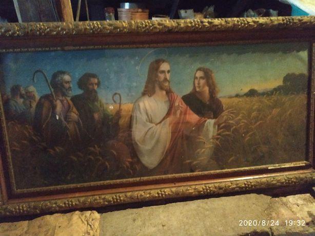 Obraz religijny.
