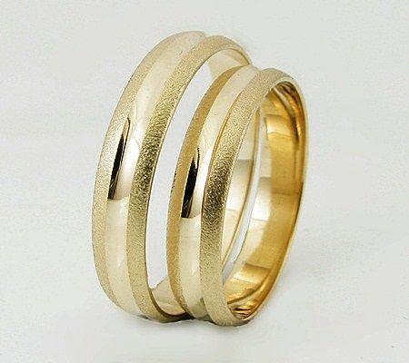 Złote obrączki 4 mm w super cenie od producenta