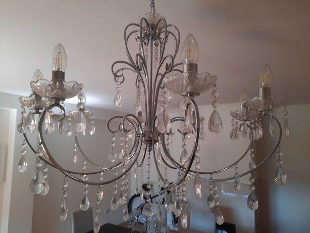 Candeeiros com varias lâmpadas