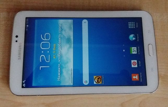 Продам планшет samsung sm-t210