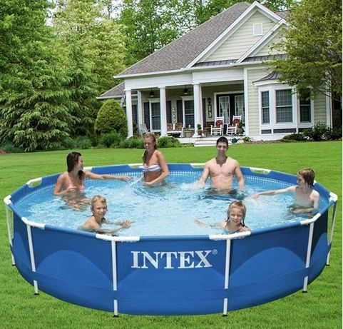 Басейн INTEX  з насосом фільтр модель 28202