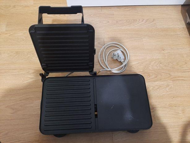 Grill elektryczny obustronne smażenie +szuflada