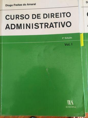 Vendo livros de Direito Administrativo