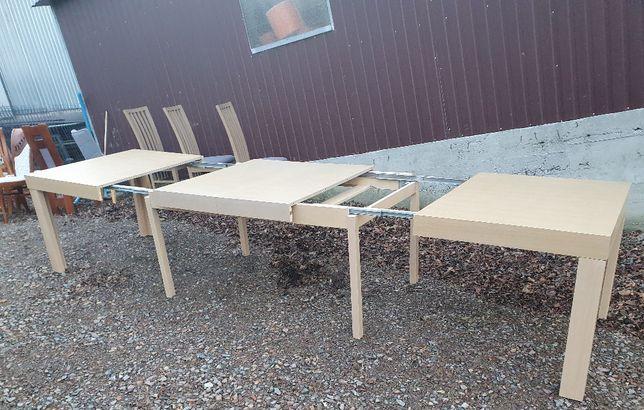 Stół 180x100 Ośmionóg + 6 krzeseł