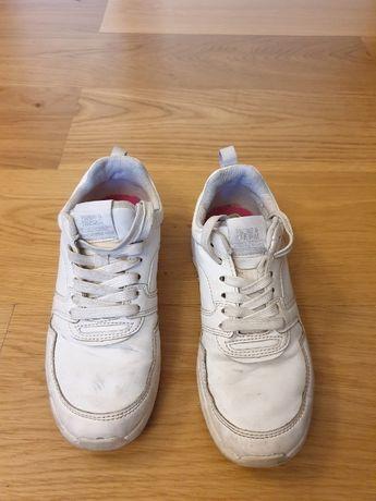 Adidasy, białe skóra r. 34