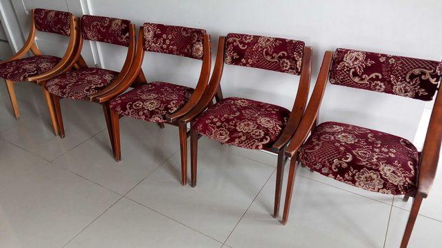 Krzesło skoczek Prl wzór 2