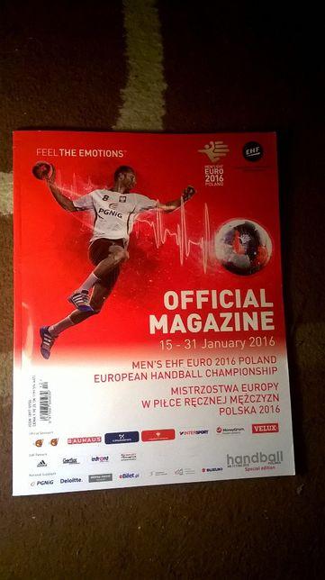 Pilka reczna Euro 2016 Polska Oficjalny Magazyn