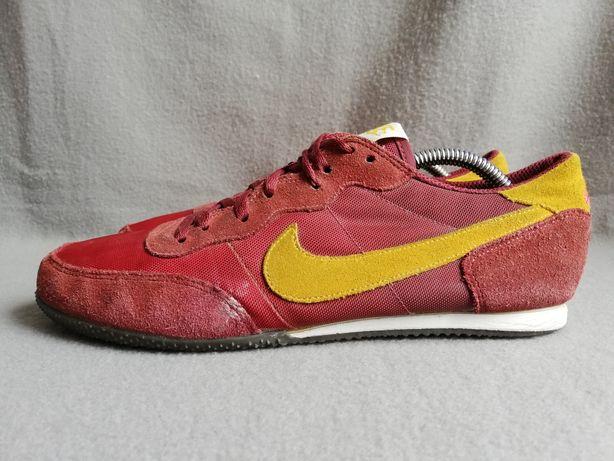 Sneakersy Nike r. 40.5 buty codzienne skórzane wygodne adidasy bordowe