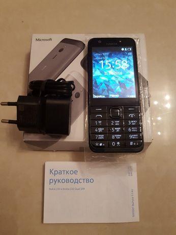 Nokia 230 Оригинальный телефон Черный Белый