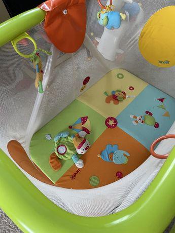 Манеж кровать Brevi Soft Play MondoCirco