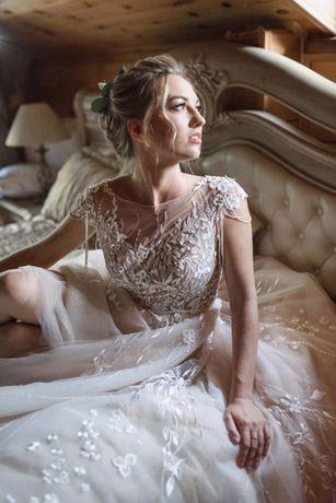 Свадебное платье от galina krasnova