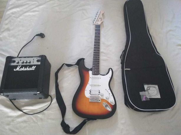 Zestaw Gitara Elektryczna Fender + Wzmacniacz